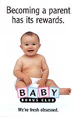 Becoming a parent has its rewards baby bonus club